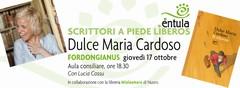 Giovedì 17/10/2013, alle ore 18.30, presso l'aula consiliare del Comune di Fordongianus, presentazione del libro 'Il ritorno' di Dulce Maria Cardoso.