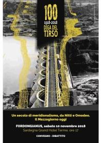 Centenario della realizzazione della diga di Santa Chiara sul fiume Tirso - Convegno-dibattito